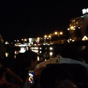 小樽運河から見る夜景