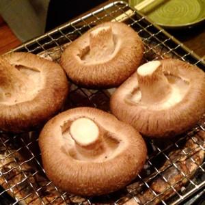 日本一しいたけの焼き方にうるさいお店のしいたけ