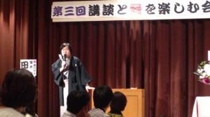 田辺鶴遊さんの講談 in氷雪の門