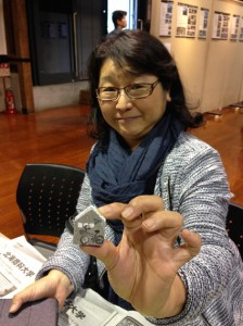 札幌軟石のマグネット