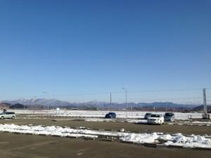蔵三の駐車場からの眺め