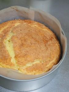 福迫お手製チーズケーキ