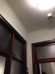 天井のわずかなアール