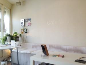 カフェの名前はCafeWhite