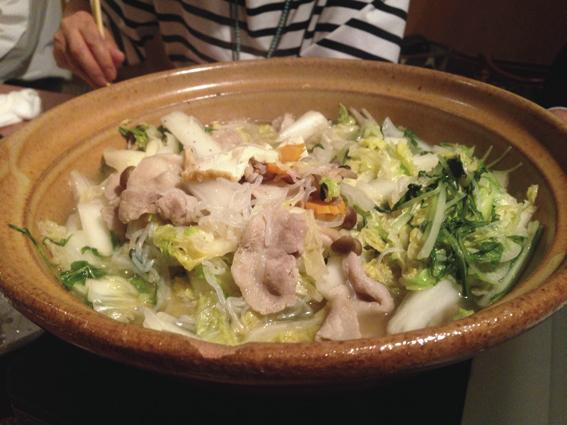 〆の美酒鍋