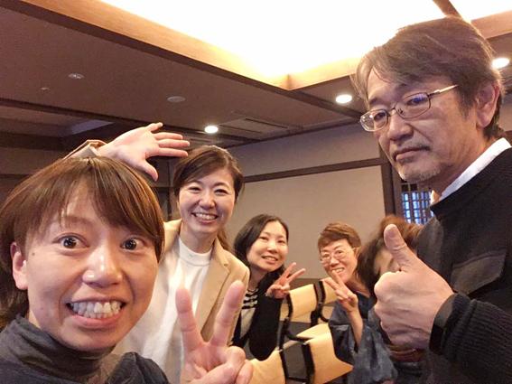 藤村さんと貴重なショット!