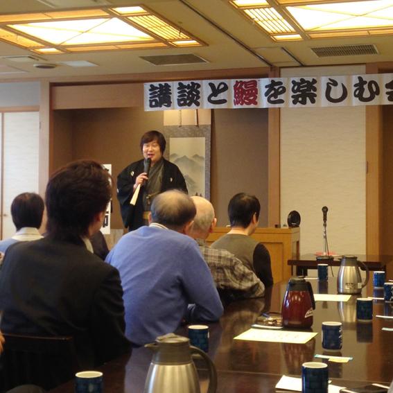 田辺鶴遊さんの講談