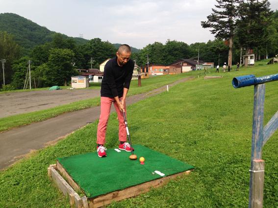 パークゴルフは初めての仙田氏