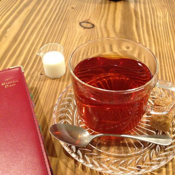 紅茶とともにマンダラタイム