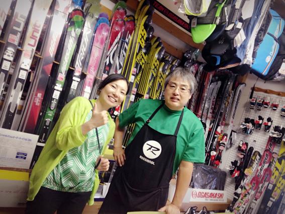 スキーブーツの職人富樫さん