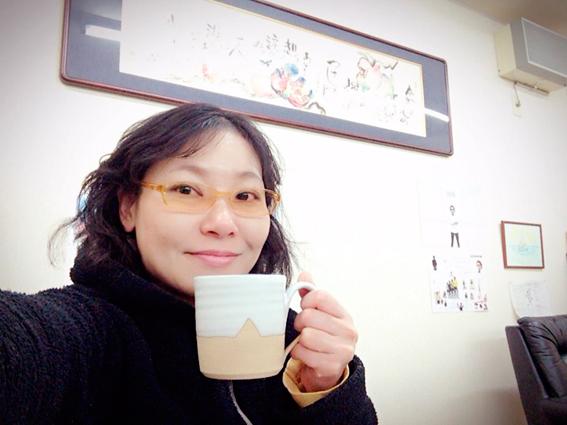 短パンコーヒーで朝のひと時を
