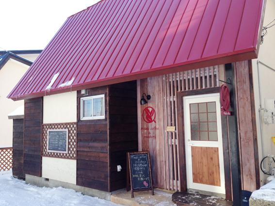 赤い屋根のかわいいお家