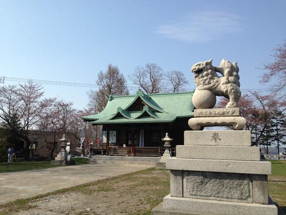 小樽市指定歴史的建造物の水天宮
