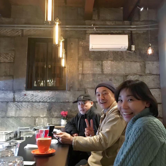 NPO法人小樽民家再生プロジェクトのメンバーと!