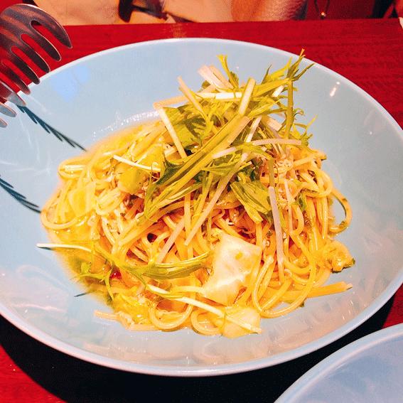 しらすのなんとかスパゲティ