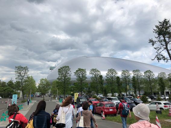 久々の札幌ドーム