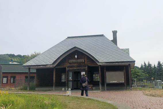 小樽市総合博物館入口