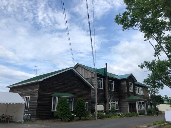 樺太にあった女学校を移設したと言われる建物