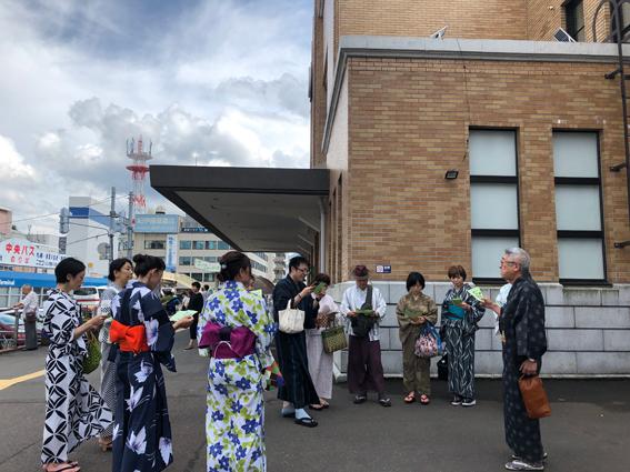 小樽駅に15時集合