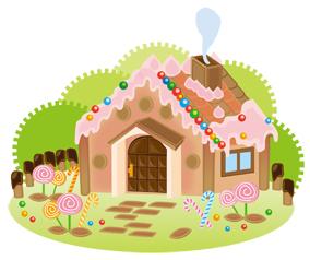 お菓子の家イメージ図