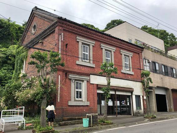 木骨煉瓦土蔵造りの旧山越山口紙店