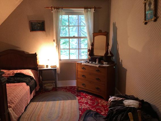 グリーンゲイブルスの2階 マリラの部屋