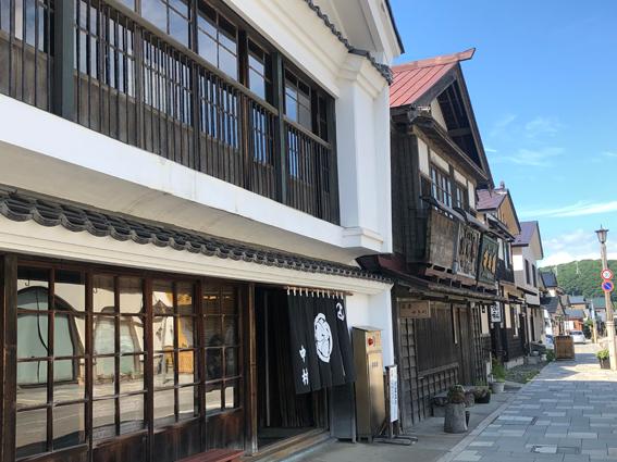 いにしえ街道に面する「旧中村家住宅」