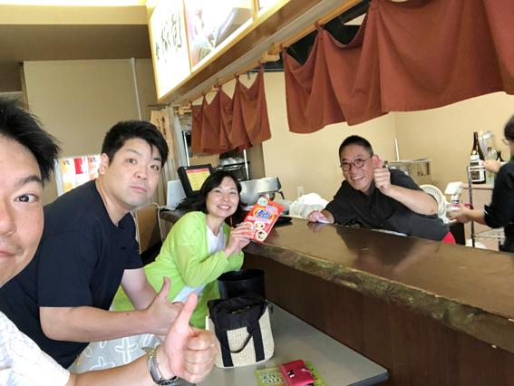 総支配人の田村さんが腕をふるっていました!
