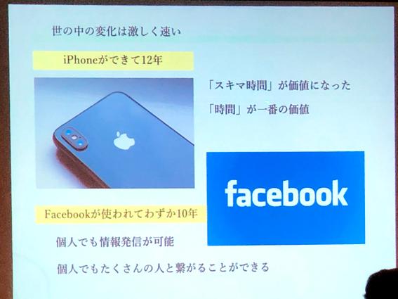 iPhoneができて12年 Facebookは10年