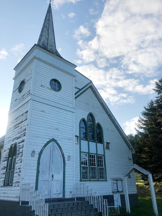 赤毛のアンの世界観の教会(結婚式場としても)