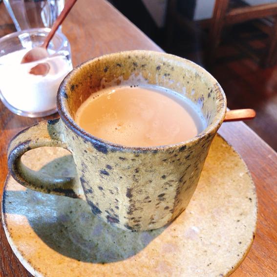 ニシクルカフェのカフェラテ