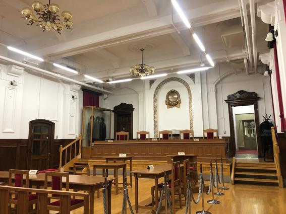 刑事法廷展示室