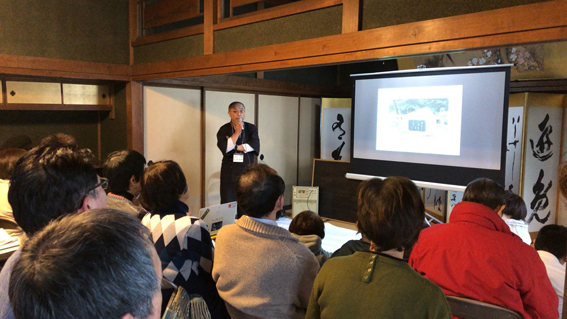 NPO法人歴史文化研究所の副代表でもある石井石井伸和さん