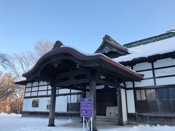 住吉神社の社務所 小樽市指定歴史的建造物