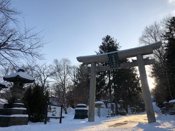 小樽の住吉神社へ
