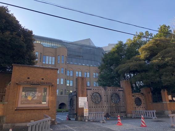 東京大学 弥生門