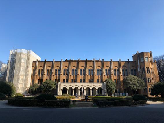 旧東大医学部の建物
