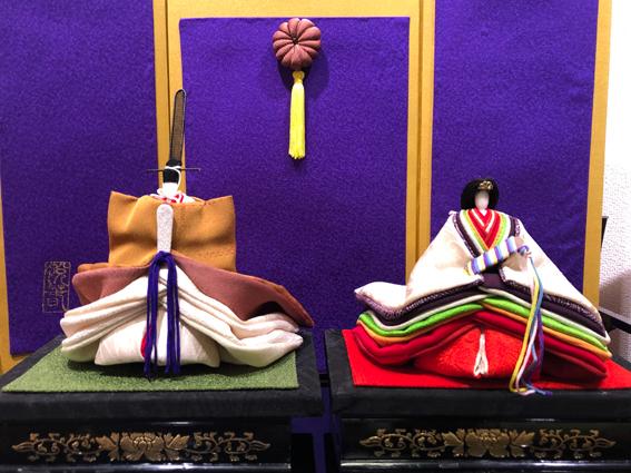 旧永山武四郎邸に展示されているお雛様