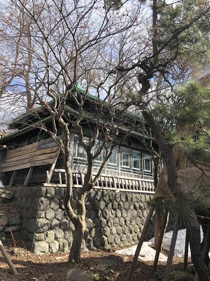 亀甲積みの石垣