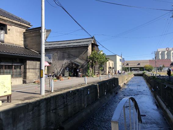於古発川で風鈴の写真