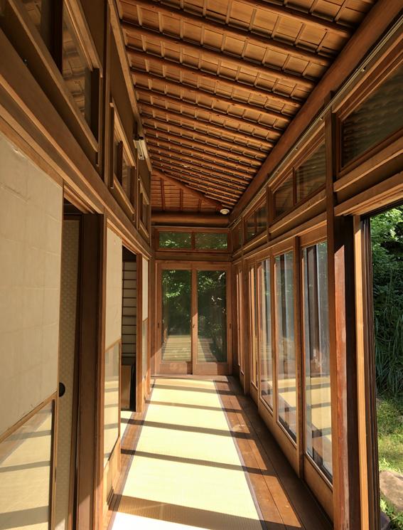 1階の和室の回廊