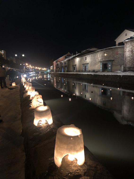 小樽雪あかりの路2020 小樽運河