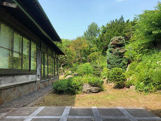 1階のお庭