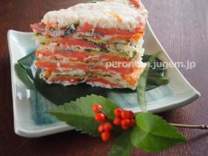紅鮭の飯寿司は、東北や北海道で冬(特にお正月)によく食べます