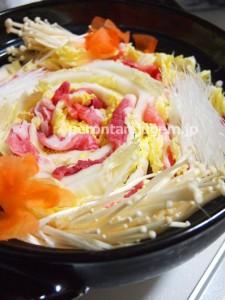 白菜と豚肉の重ね鍋