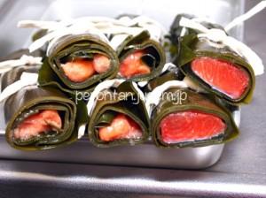 身欠きニシンも美味しいですが、紅鮭・生たらこ(スケソウダラ)も!