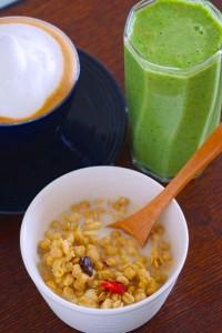 小松菜のベジフルジュース