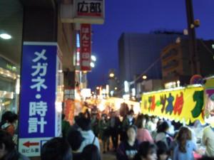 琴似神社祭り02