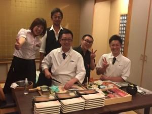 蝦夷風花×おたる政寿司×ルードヴァン1